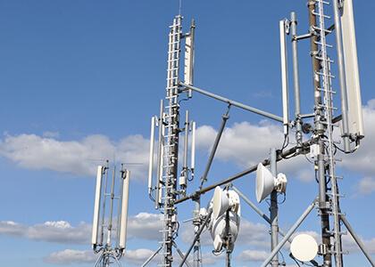 通信・携帯基地局の設計、製作ならびに工事請負、維持管理